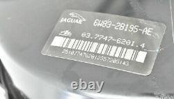 2007-2011 Jaguar XK XKR X150 Power Brake Booster Servo With Master Cylinder OEM