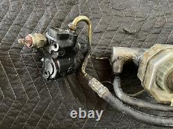 Bmw E31 E32 850ci 850csi 750il Hydraulic Brake Booster Servo + Master Cylinder
