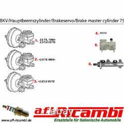 Bremskraftverstärker-brake booster Alfa 75 1,6/1,8/2,0 Bj. 1985-1989