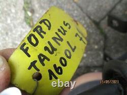 Ford Taunus MK1 MK2 MK3 Bremskraftverstärker Servo Brake Booster original ATE