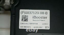OEM TESLA S 75D VACUUM BRAKE SERVO BOOSTER iBOOSTER UNIT ASSEMBLY 1037123-00-B