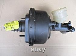 Peugeot 204 Bj. 68 Bremskraftverstärker Servo Brake Booster Master Cylinder