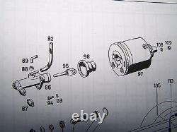 Unimog 406 407 416 421 MB-trac 800 Brake Servo Booster Repair Kit NEW